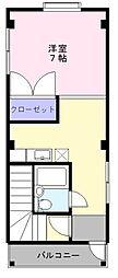ふくわうち東豊中[3階]の間取り