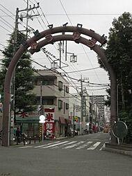 神奈川県川崎市中原区上小田中1丁目の賃貸アパートの外観