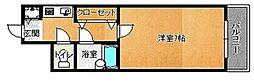 荒江四つ角ビル[701号室]の間取り