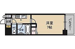 エスリード新大阪第5[7階]の間取り