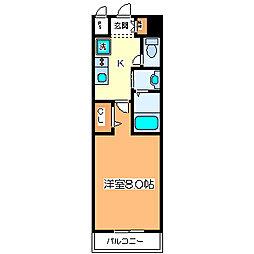 パレス大阪[10階]の間取り