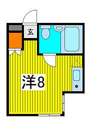 埼玉県さいたま市南区別所3丁目の賃貸マンションの間取り
