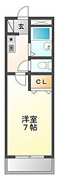 スリール武庫川[3階]の間取り