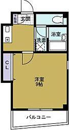 コンティニュー千代崎[3階]の間取り