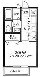 デンハウス妙蓮寺 I[101号室号室]の間取り