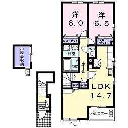 大塚アパート[2階]の間取り