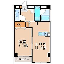 アゼリア鎌倉[2階]の間取り
