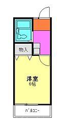 シティ朝霞本町[2階]の間取り