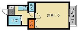 プチハウスHana2[2階]の間取り