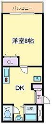 STUDIO阪下[1階]の間取り