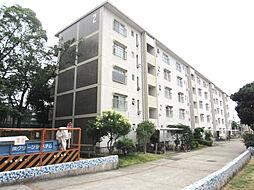 佐野湊団地2号棟[4階]の外観