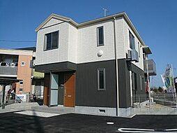 広島県福山市駅家町大字江良の賃貸アパートの外観