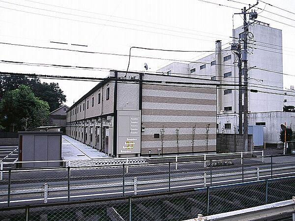 東京都羽村市緑ヶ丘3丁目の賃貸アパートの外観