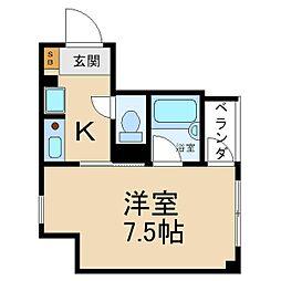 ファミールアラ[5階]の間取り