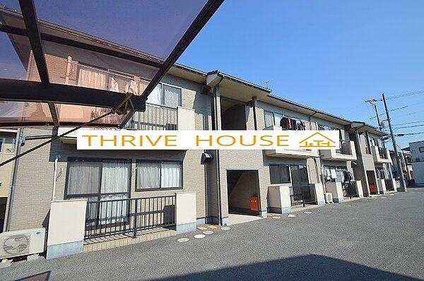 岡山県岡山市南区下中野の賃貸アパート