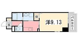 ラ・ブローテ東加古川[703号室]の間取り