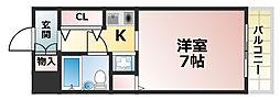 メゾン・ド・六甲パート3[1階]の間取り