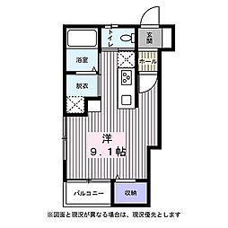 宮城県仙台市太白区根岸町の賃貸アパートの間取り