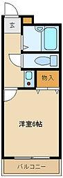 リアーズ武庫之荘[2階]の間取り