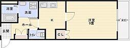 エクセル1[5階]の間取り