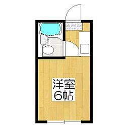 エクシードKG[4階]の間取り