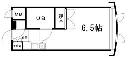 あしはらマンション[202号室]の間取り