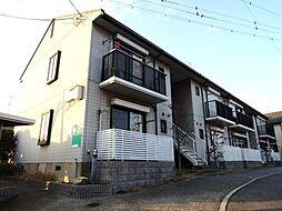 京都府京都市山科区音羽珍事町の賃貸アパートの外観