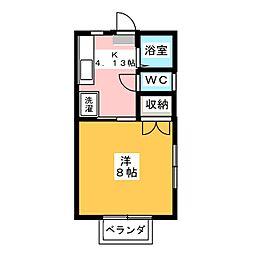 メゾン木下 C[2階]の間取り