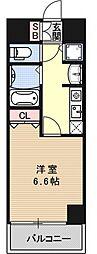 ライジングコート京都西院フロンティア2[503号室号室]の間取り