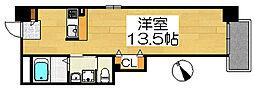 TKアンバーコート大町[7階]の間取り