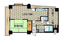 兵庫県神戸市須磨区須磨浦通2丁目の賃貸マンションの間取り