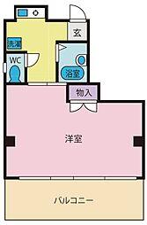 花輪ビル[2階]の間取り