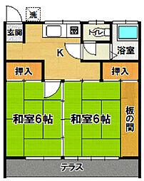 [一戸建] 茨城県つくば市中根 の賃貸【茨城県 / つくば市】の間取り