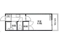 ロイヤルコーポ[2階]の間取り