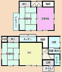 [一戸建] 千葉県茂原市緑町 の賃貸【/】の間取り