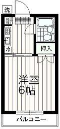 スカイハイム伊藤[3階]の間取り