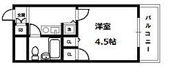 トーカン東淀川キャステール[3階]の間取り
