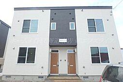 [テラスハウス] 北海道札幌市北区太平二条3丁目 の賃貸【/】の外観