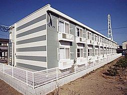 レオパレスリバーポートⅡ[1階]の外観