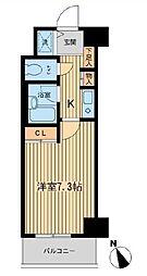 ベジフル北新宿弐番館[605号室号室]の間取り
