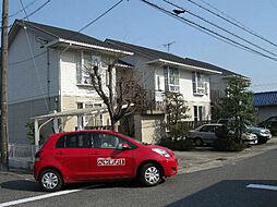 愛知県名古屋市天白区植田山5丁目の賃貸アパートの外観