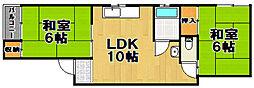 ソガベマンション[2階]の間取り
