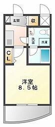 セレニテ甲子園[4階]の間取り
