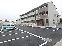群馬県太田市南矢島町の賃貸アパートの外観