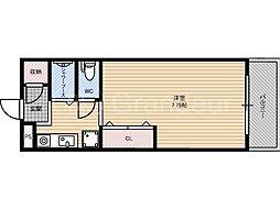 高倉マンション[6階]の間取り