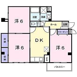 ディアコ−ト[0201号室]の間取り