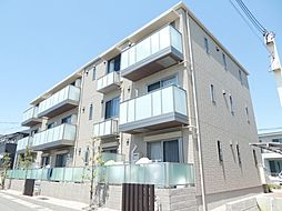 兵庫県明石市大久保町谷八木の賃貸アパートの外観