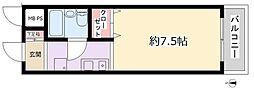 ライオンズマンション大和中央[404号室号室]の間取り