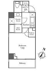 Pianeta麻布十番[9階]の間取り