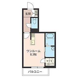 パークメゾン浦和元町[1階]の間取り